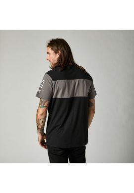 "Camiseta FOX ""Mirer SS Crew"" black grey"