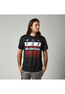 "Camiseta FOX ""Honda HRC SS"" black red"
