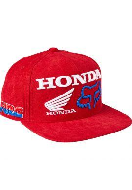 "Gorra plana FOX ""Honda HRC"" red"