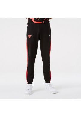 "Pantalón chandal NEW ERA ""Chicago Bulls Team Logo"" black red"