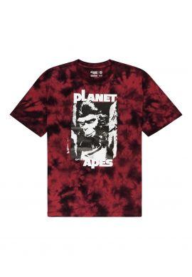 "Camiseta ELEMENT ""Pota Surge"" red tie dye"