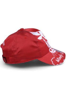 "Gorra curva strapback Mitchell & Ness ""Chicago Bulls Full on dad"" red"