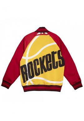 Chaqueta beisbolera Mitchell & Ness Colossal Houston Rockets