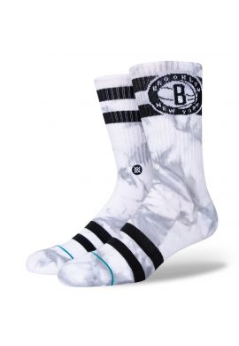 Calcetines STANCE Brooklyn Nets dyed white