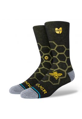 Calcetines STANCE Wu Tang Clan Hive black yellow
