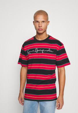 Camiseta KARL KANI Originals Stripe red yellow green black