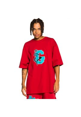 Camiseta GRIMEY heavy weight Singgang Junction red