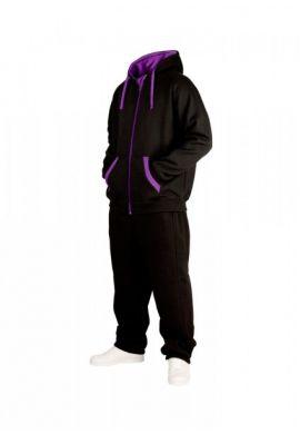 Chandal completo Urban Classics TB056 black purple