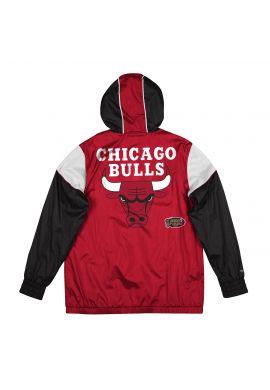 "Cortavientos Mitchell & Ness ""NBA Highlight Reel Chicago Bulls"" red black"