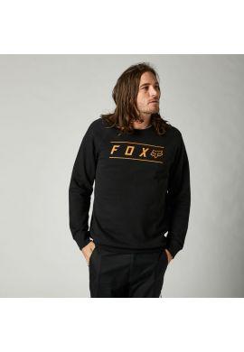 Sudadera crewneck FOX Pinnacle fleece black copper