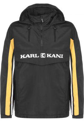 Cortavientos Karl Kani Retro block gold black white