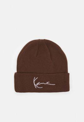 Gorro invierno Karl Kani Signature dark brown