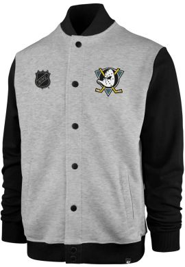 Chaqueta beisbolera algodón 47 Brand Burnside Anaheim Ducks
