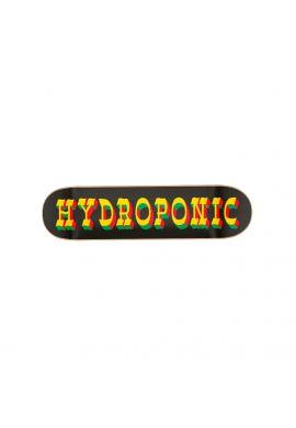Tabla skateboard Hydroponic Black Rasta