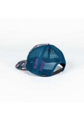 Gorra trucker Hydroponic Pink Panther charcoal tie dye