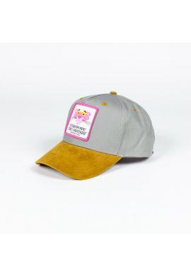 Gorra curva Hydroponic Pink Head grey brown