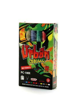 "PACK Rotuladores UNIPOSCA ""Urban Colors"""