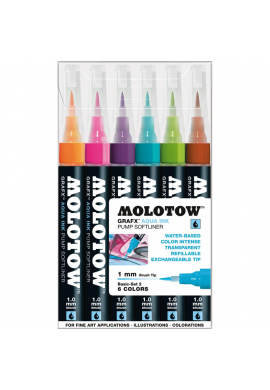 "Set Rotuladores MOLOTOW "" Grafx Aqua Ink"" 1 mm (Basic SET 2)"