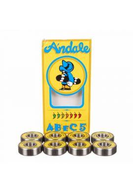 Rodamientos ANDALE Abec 5 (Skateboard / Longboard)