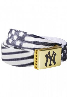 Cinturón NY Yankees (American Flag blue-white)
