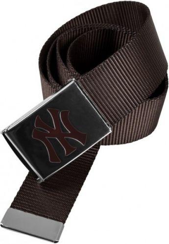 """Cinturón Masterdis """"NY YANKEES"""" marrón"""