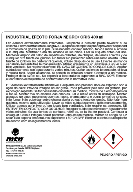 MONTANA Industrial Forja antioxidante