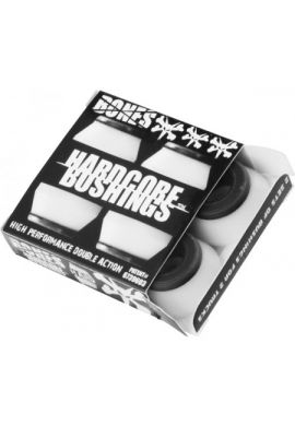 BONES BUSHINGS HARDCORE HARD WHITE
