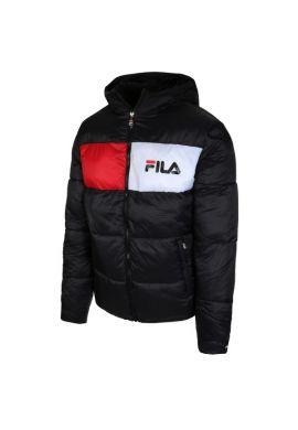"""Chaquetón FILA """"Floyd"""" puff hood (black)"""