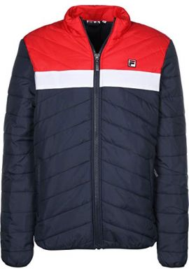 "Chaquetón FILA ""Pisselli"" padded (blue/red/white)"