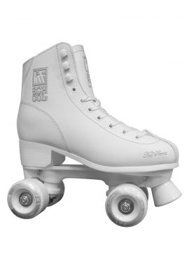 "Patines Quad KRF ""Roller School"" white"