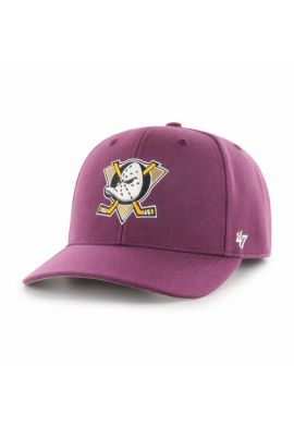 "Gorra semicurva 47 BRAND ""Mighty Ducks"" purple"