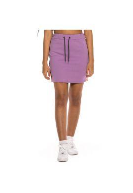"Minifalda chica GRIMEY ""Steamy Blacktop"" purple"