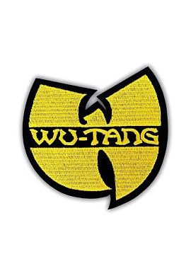 """Parche Ropa """"Wu Tang Clan"""" Logo yellow"""