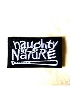 "Parche ropa ""Naughty by Nature"" black"