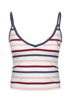 "Top tirantes chica KARL KANI ""Og Signature"" pink / white / navy"