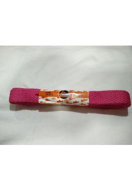 Cordones zapatillas anchos 120 cms (Magenta)