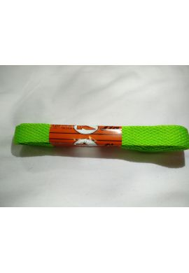 Cordones zapatillas anchos 120 cms (Verde fluor)