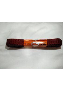 Cordones zapatillas anchos 120 cms (Rojo burdeos)