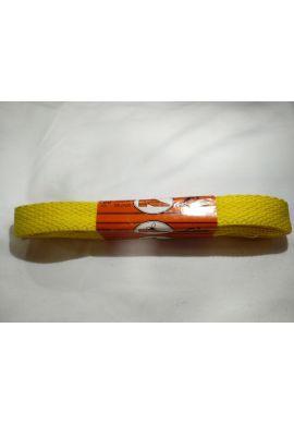 Cordones zapatillas anchos 120 cms (Amarillo huevo)