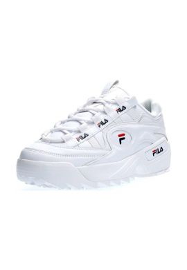 "Zapatillas chica FILA ""D-Formation"" white/navy"