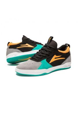 "Zapatillas LAKAI ""Proto TONY HAWK"" black - teal - suede"