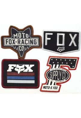 Pack Parches ropa FOX