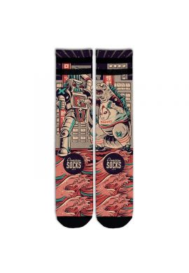 "Calcetines American Socks ""Godzilla"" mid high"
