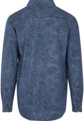 """Camisa URBAN CLASSICS """"2022"""" paisley denim"""