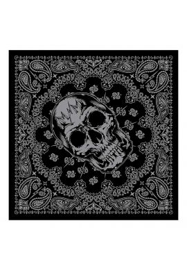 "Bandana Metal Mulisha ""John Doe"" black / grey"
