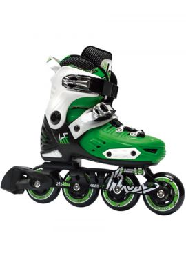 "Patines extensibles KRF ""First"" green"