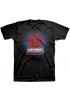 """Camiseta ELEMENT (Colección Masters del Universo) """"Motu Lava Rocks"""" black"""
