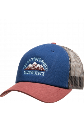 "Gorra semicurva ELEMENT ""Icon Mesh"" navy / burgundy"