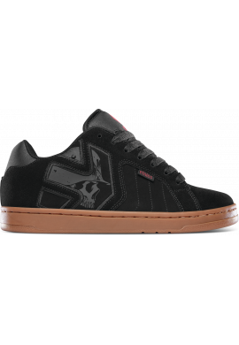 "Zapatillas ETNIES ""Metal Mulisha Fader"" black/red/gum"