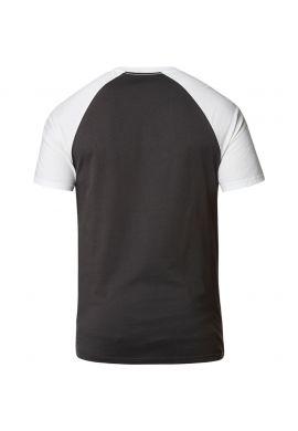 "Camiseta FOX ""Blocked"" black / white"